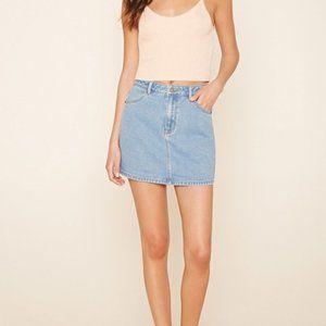 4/$20 Forever 21 Denim mini skirt